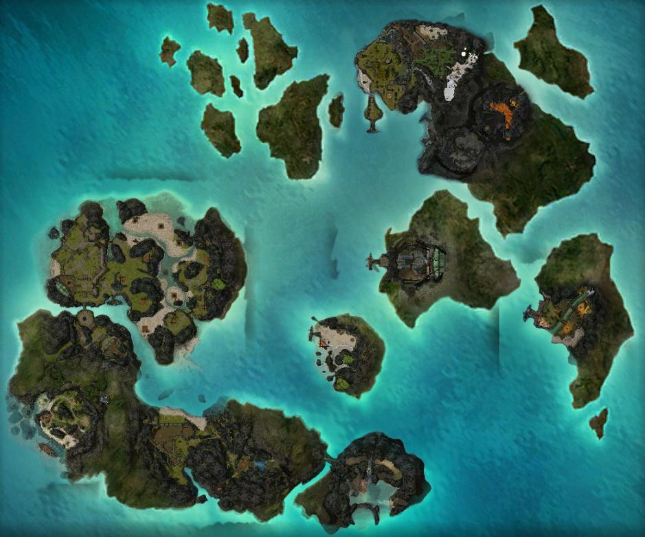 The Battle Isles/Map - Guild Wars Wiki (GWW)