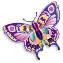 User Kaisha Colorful Butterfly Flipped.png