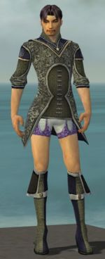 Elementalist Canthan armor m gray front chest feet.jpg