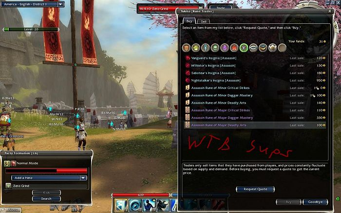 ArenaNet talk:Miscellaneous bugs/R2 - Guild Wars Wiki (GWW)