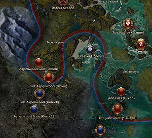 Kurzick-Luxon border - Guild Wars Wiki (GWW)