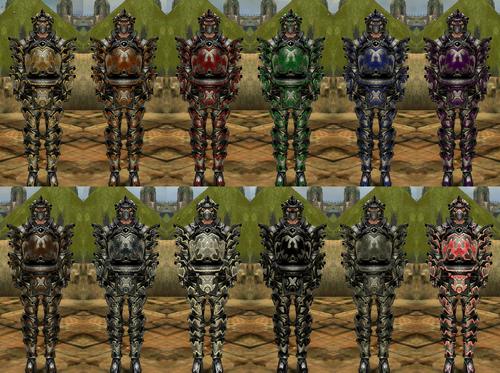 Gallery of male warrior Obsidian armor - Guild Wars Wiki (GWW)
