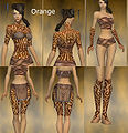Monk Flowing armor Female Orange overview.jpg
