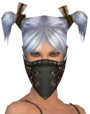 Ranger Istani Mask f gray front.png