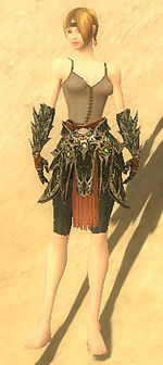 Warrior Elite Luxon armor f gray front arms legs.jpg