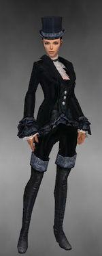 Gallery of female Dapper Tuxedo costume - Guild Wars Wiki (GWW)