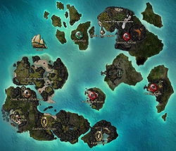 Guild Wars 1 World Map.List Of Maps Guild Wars Wiki Gww