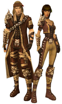 A male and female ranger