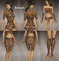 Monk Flowing armor Female Brown overview.jpg
