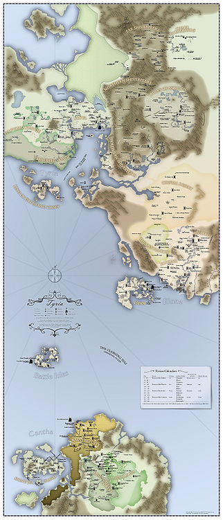 Guild Wars World Map Tyria (world)   Guild Wars Wiki (GWW)