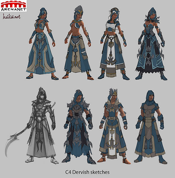 "File:""C4 Dervish sketches"" concept art.jpg"