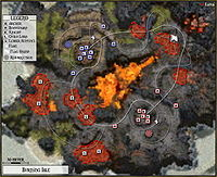 Burning Isle Map