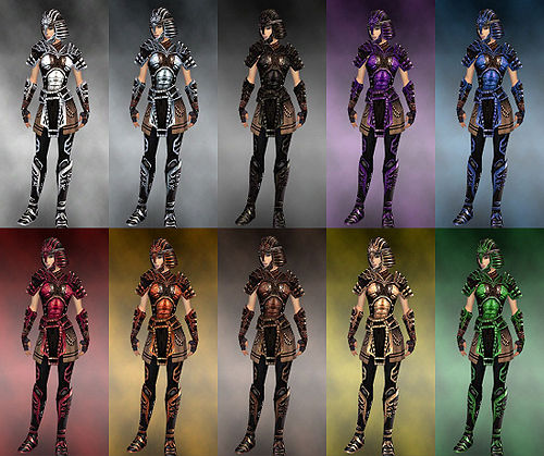 Gallery of female warrior Ancient armor - Guild Wars Wiki (GWW)