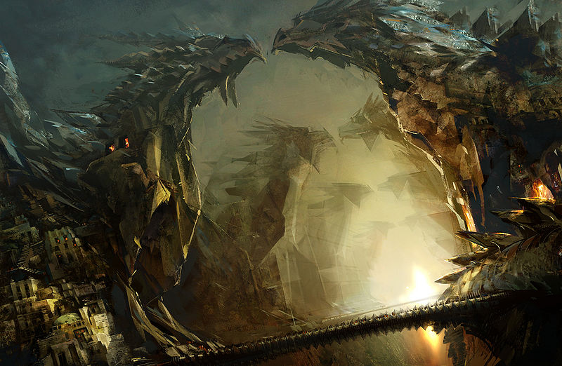 "File:""Dragon Alley"" concept art.jpg"