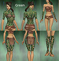 Monk Flowing armor Female Green overview.jpg