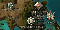 Kamadan, Jewel of Istan world map.jpg