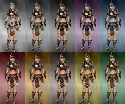 Gallery of female warrior Vabbian armor - Guild Wars Wiki ...