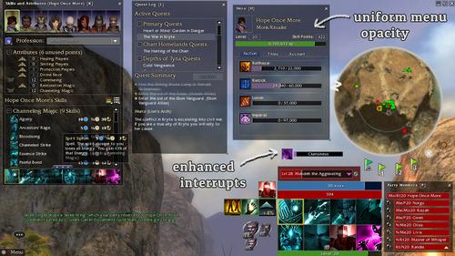 User:Jujin/Minimalus UI Mod - Guild Wars Wiki (GWW)