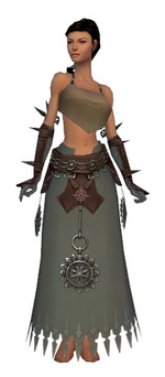 Dervish Sunspear armor f gray front arms legs.png