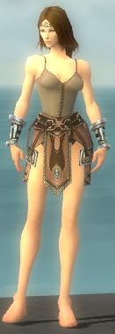 Warrior Gladiator armor f gray front arms legs.jpg
