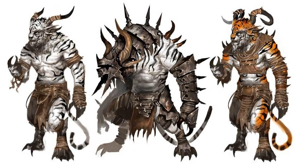 dfga: Nonhuman fantasy races