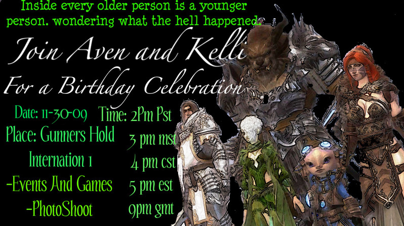 Kellis Birthday Invite