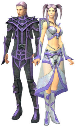 A male and female elementalist