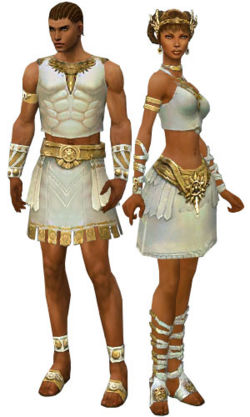 A male and female paragon