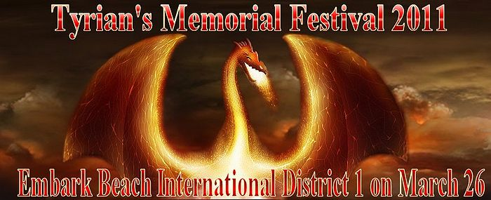Thank you for checking out The Tyrian's Memorial Festival