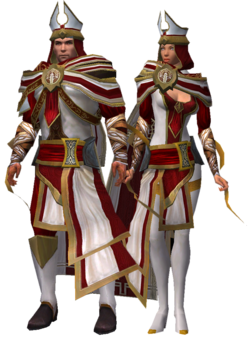 White Mantle Robes