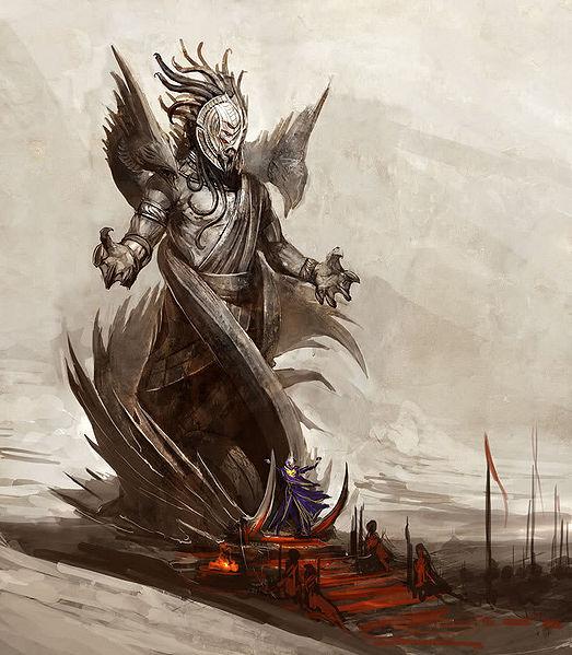 "File:""Abbaddon God Statue"" concept art 1.jpg"
